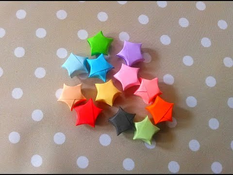 How to Make Star Origami Tutorial | Cara Membuat Origami Bintang