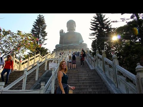 Greatest View In The World!? The Big Buddha  Hong Kong Vlog 2017