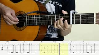 Download On My Way (OST PUBG) - Alan Walker - Fingerstyle  Guitar Cover - Tutorial TAB. Mp3