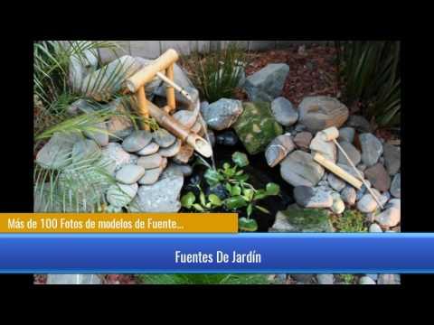 Más de 100 Fotos de modelos de Fuentes de jardín que os van a encantar