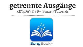(ST) SongBook+ getrennte Ausgänge benutzen - Audiointerface