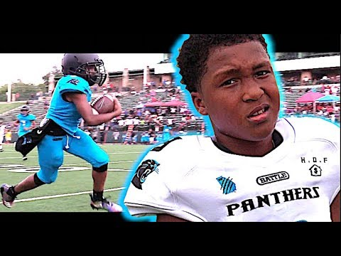 😎 10 Year Old Star Running Back !! Tyriq 'Boogey' Green | Welcome All Panthers (Atlanta,  GA)