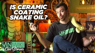 Is ceramic coating snake oil?