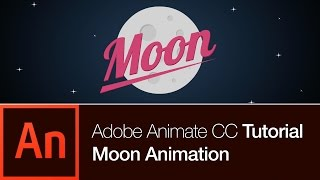 Animate CC Tutorial: Erstellen der Mond Animation (KOSTENLOSER DOWNLOAD)