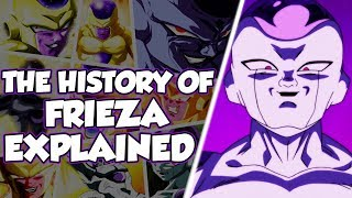 The History Of Frieza Explained