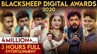Blacksheep Digital Awards 2020 | Full Video | BlackSheep - 28-06-2020 Tamil Cinema News