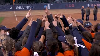 Illini Softball | IUPUI Highlights 3/19/19