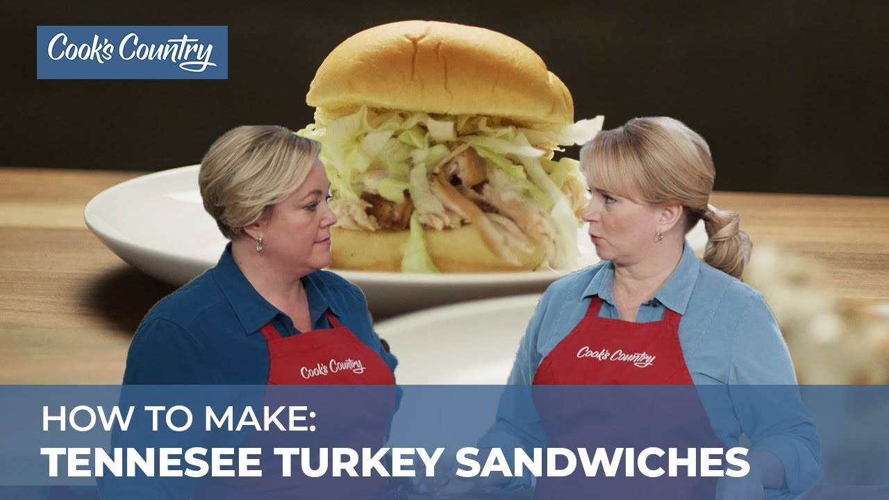 How To Make Tennessee Smoked Turkey Sandwiches Youtube