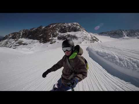 Stubai Glacier, Shred it.