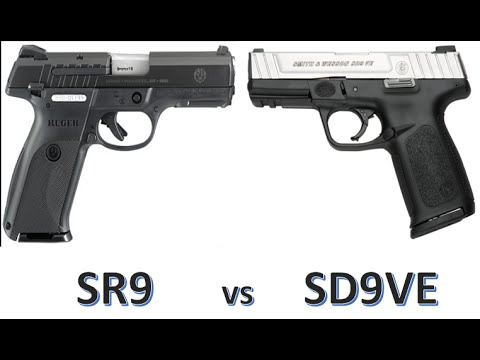 Ruger Sr9 Vs S Amp W Sd9ve Specifications