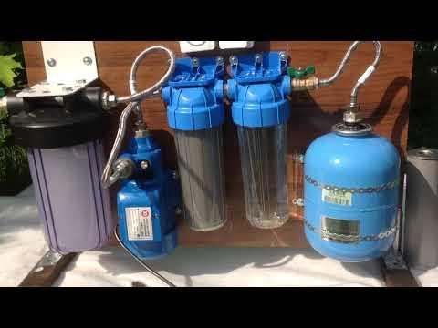 ФИЛЬТР тонкой очистки воды до 0,1 МКМ