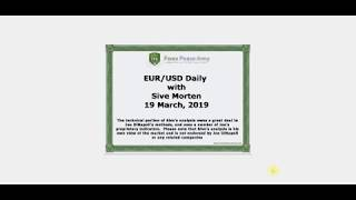 ForexPeaceArmy | Sive Morten Daily, EUR/USD 03.19.2019