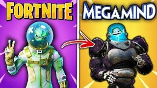 10 SKIN by Fortnite COPIATE by THE FILM PERSONAGES !