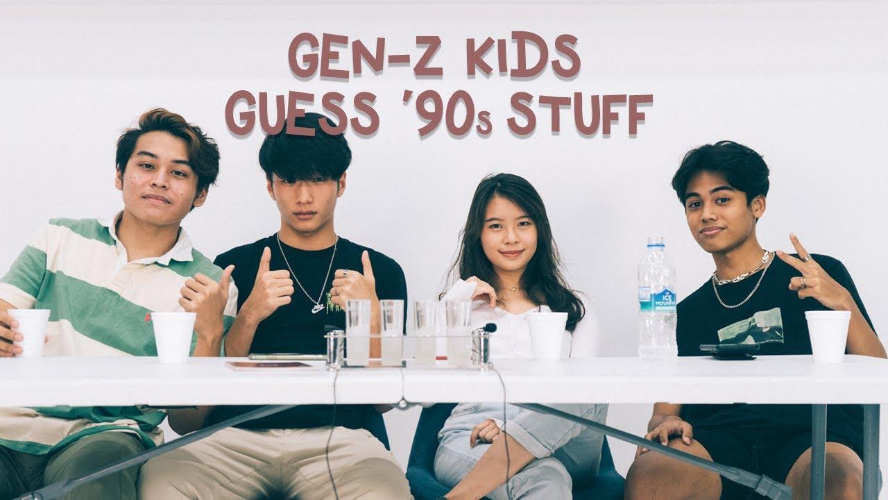 Download Gen-Z Kids guess '90s stuff   Gen-Z Magazine