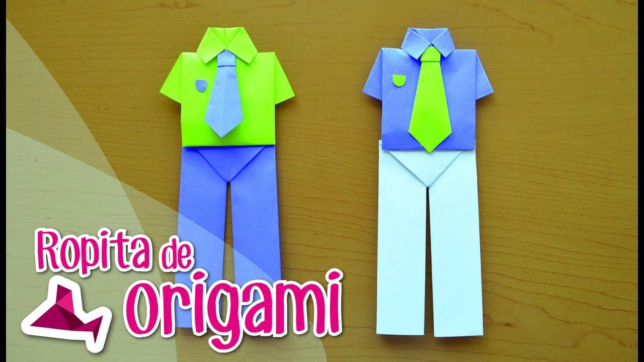 Camisa De Origami Con Pantalón