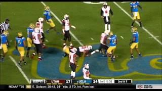 Utah Utes vs  UCLA Football Highlights 10-04-13