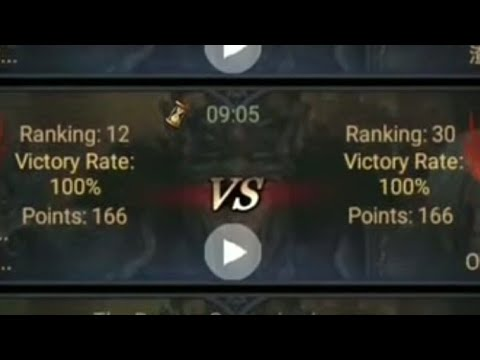 Clash Of Kings : Dragon Championship : Rank 12 (CAP) VS Rank 30 (MOA)