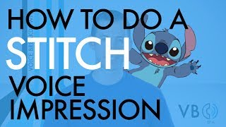"""How To Do A Stitch Voice Impression"" - Voice Breakdown Ep. 6"