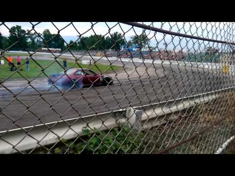 Lake County Speedway RB26 s14 Burnout
