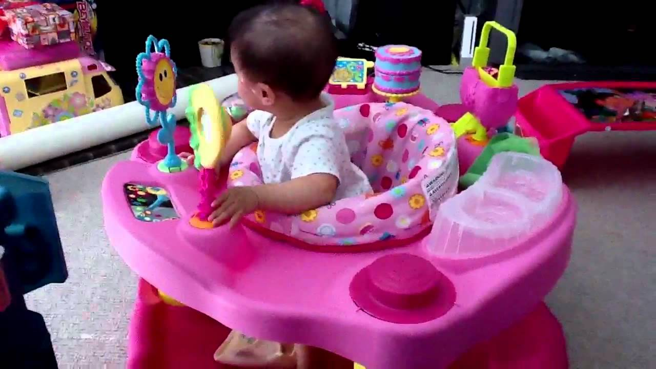 697c96a8b2b8 evenflo exersaucer tea for me 1-2-3 - YouTube