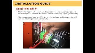 Generator Installation Guide - AURORA Generators