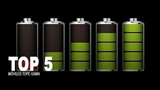 Top 5 2014: Los móviles tope gama con más duración de batería