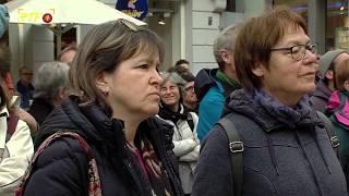 Kundgebung und Mahnwache - Tübinger setzen sich für Flüchtlinge und Journalisten ein
