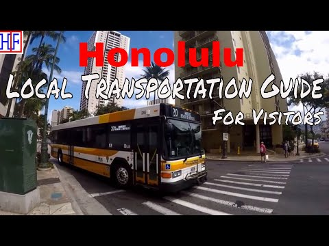 Honolulu | Getting Around – Transportation Information | Travel Guide | Episode# 2