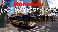 Honolulu | Local Transportation Information - Getting Around | Travel Guide | Episode# 2