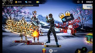 GIVEAWAY FREE FIRE  !! 🔥🔥 !! توزيع هدايا فري فاير