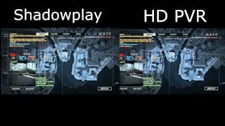 HD 1080p - HD PVR v.s. SHADOWPLAY PC Battlefield 4