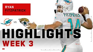 Fitzmagic Says 'Down Kitty'! Finishes w/ 2 TDs   NFL 2020 Highlights