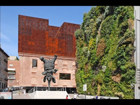 Places to see in ( Madrid - Spain ) Caixaforum