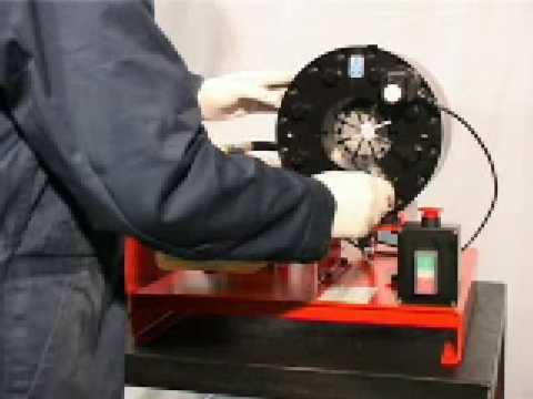 12 Volt Mobile Hose Crimping Swaging Machine By Hydralok