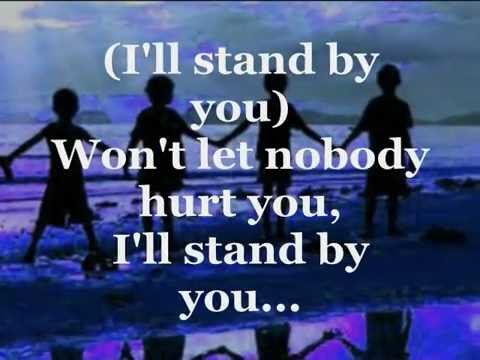 I'LL STAND BY YOU (Lyrics) - THE PRETENDERS