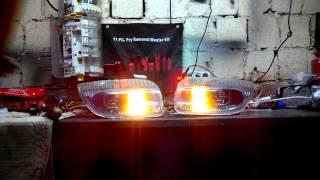 Фары Pontiac Sunfire + поворот-габарит