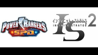 Repeat youtube video Power Rangers SPD (Infinite Stratos 2)