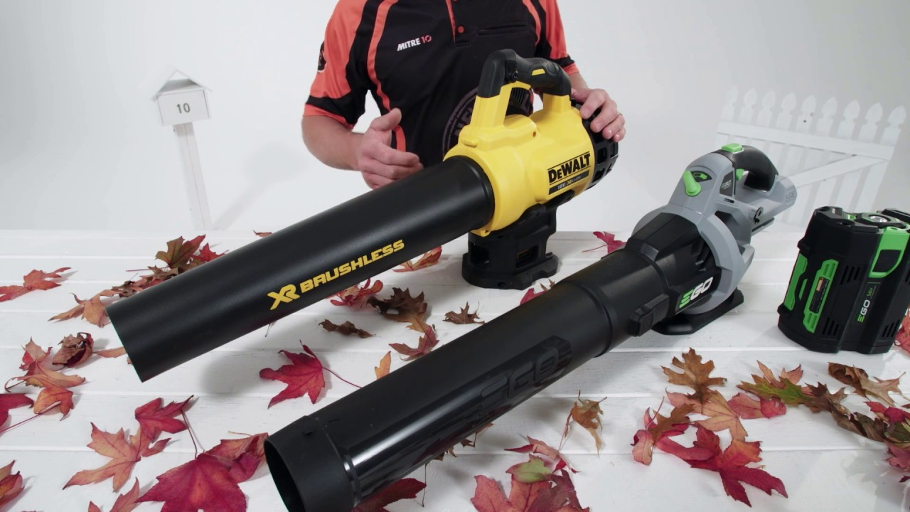 choosing a leaf blower mitre 10 youtube