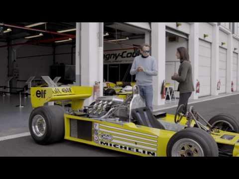 40 ans de Renault en F1:  Jean-Pierre Jabouille, le pilote des premiers succès