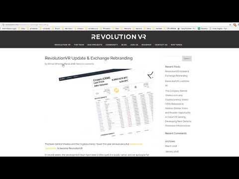 Novi RevolutionVR coin - Može li da se zaradi?