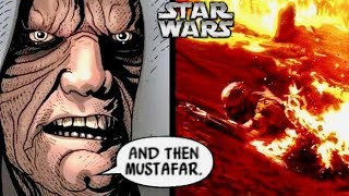 What Sidious Truly Thought of Vader's Defeat on Mustafar! (Canon vs. Legends)