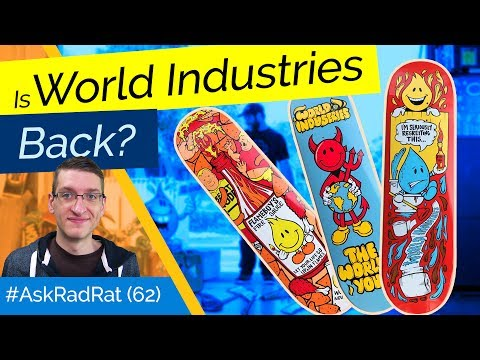Is World Industries BACK? Did Rocco Hurt 90s Skating? #AskRadRat (62)