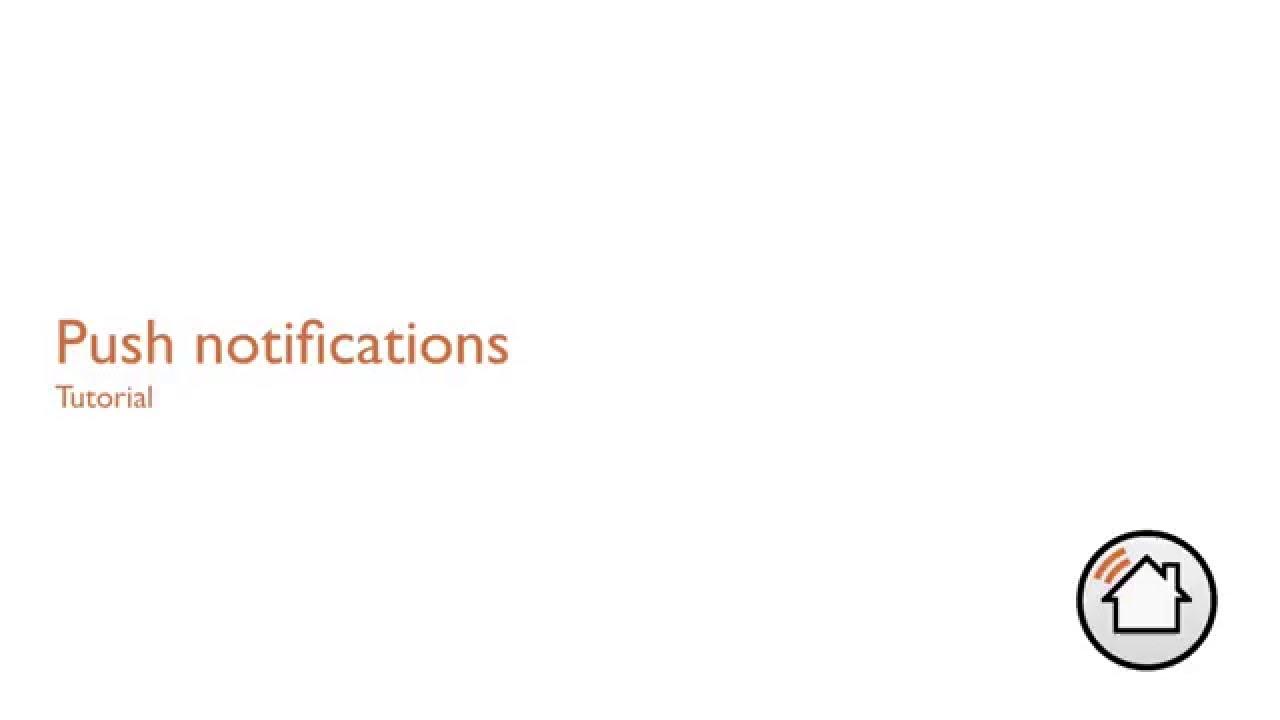 Pilot - Push notifications for Domoticz
