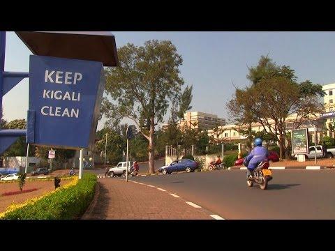 Kigali, a green clean city
