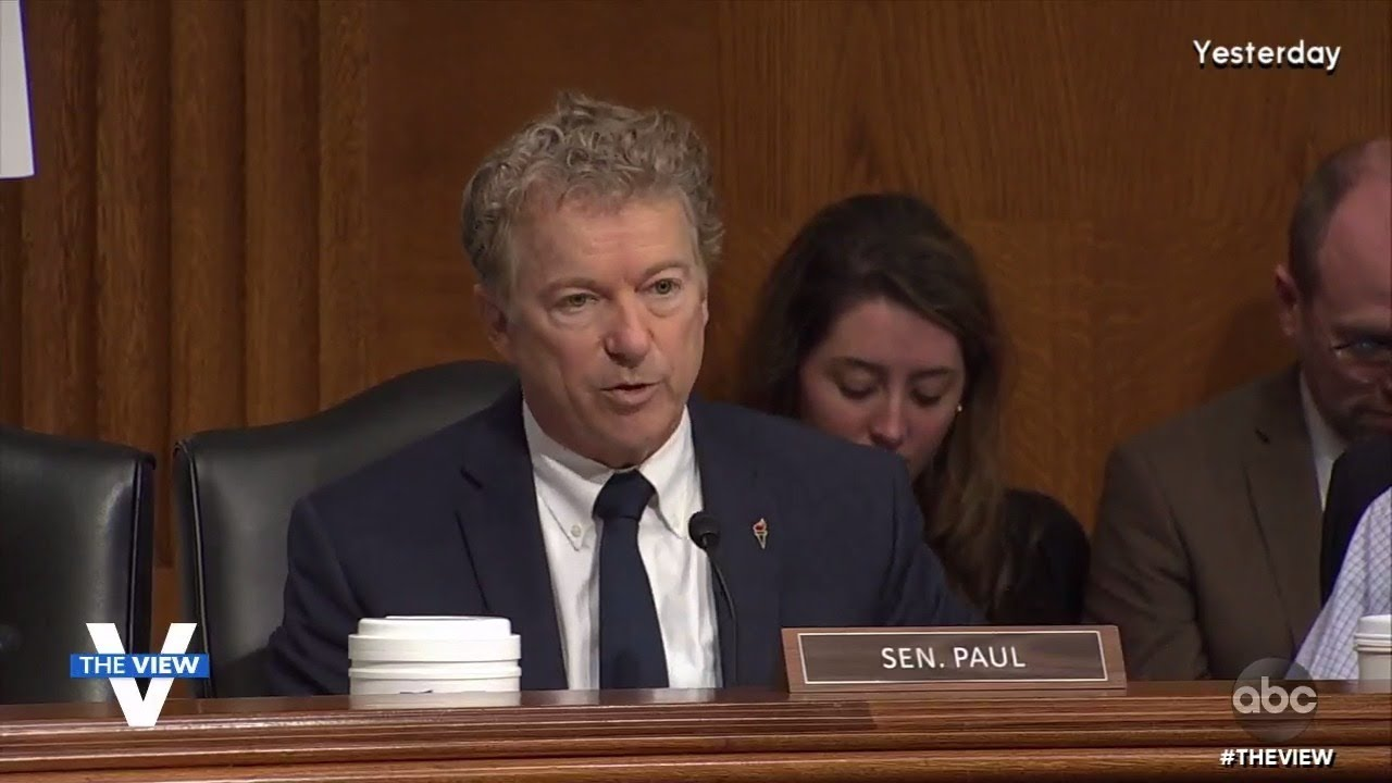 Sen. Rand Paul and Dr. Anthony Fauci Spar Over Wuhan Lab Research | The View