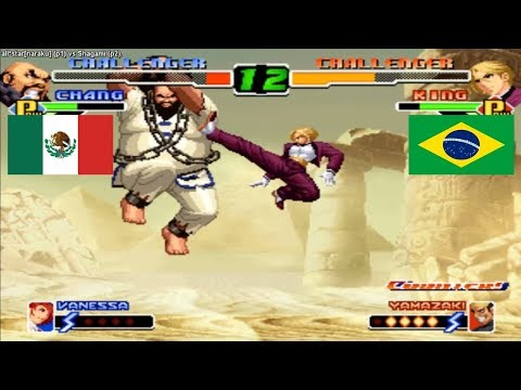 Kof 2000 all*star[naraku] (mexico) vs Shagami (brazil) Fightcade