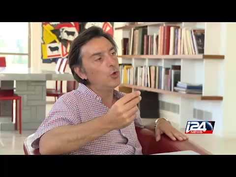 """Yvan Attal se confie à i24news avant la sortie de son film """"#Lesjuifs"""""""