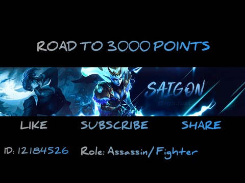 SOLO/TRIO RANKS ROAD TO 3K POINTS MYTHICAL GLORY!! MOBILE LEGENDS BANG BANG