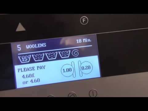 Primus FX105 and FX80 Washing Machine : Program cycles.