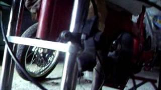 Pocket bike 49cc préparé